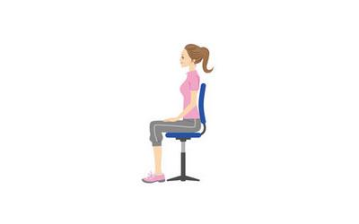 座りながらエクササイズ