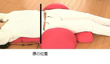 3Dエアーの腰の位置